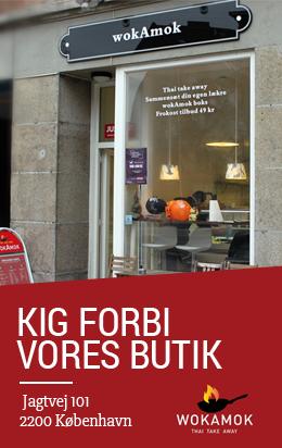 Besøg vores butik på Jagtvej 101, 2100 København